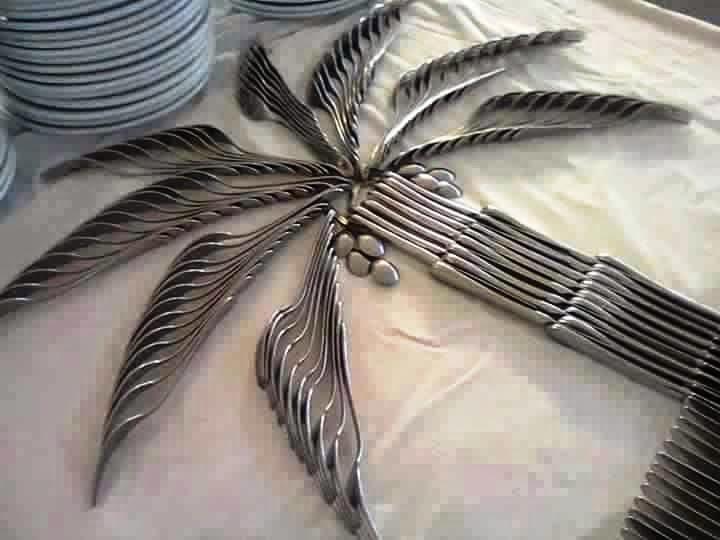 Cutlery art design ideas
