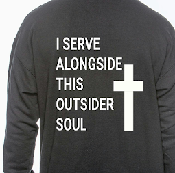 My Religion: I serve alongside this Outsider soul