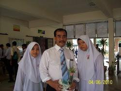 bersama-sama anak murid THO