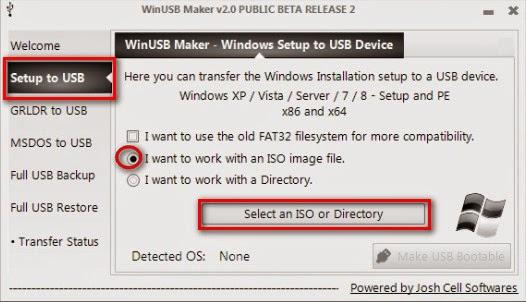 Hướng dẫn cài đặt Windows XP bằng USB