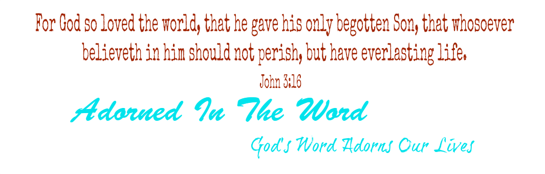 Adorned In The Word