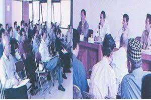 Arsip Musda Pembentukan  DPD Asosiasi LPM Kab Bogor 2003