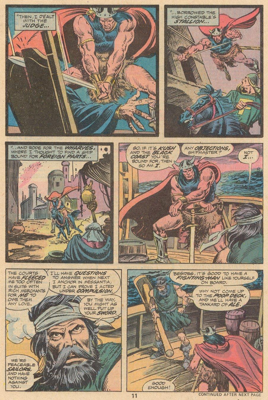 Conan the Barbarian (1970) Issue #58 #70 - English 8