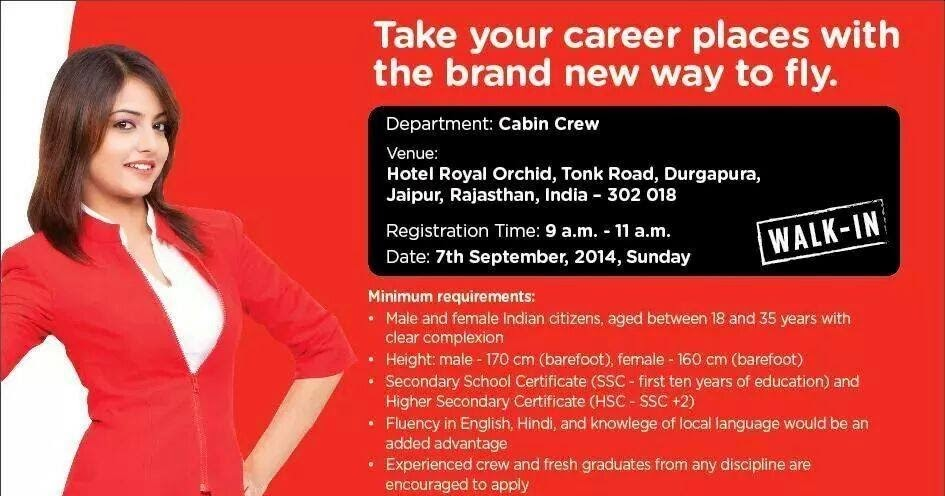Fly gosh air asia india cabin crew recruitment open day for Cabin crew recruitment agency philippines