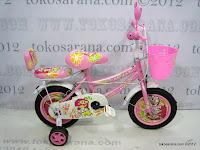 1 Sepeda Anak Kasea 12K Metropolitan Traveller BMX 12 Inci