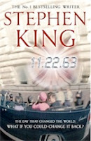 Book cover of 11.22.63 by Stephen King