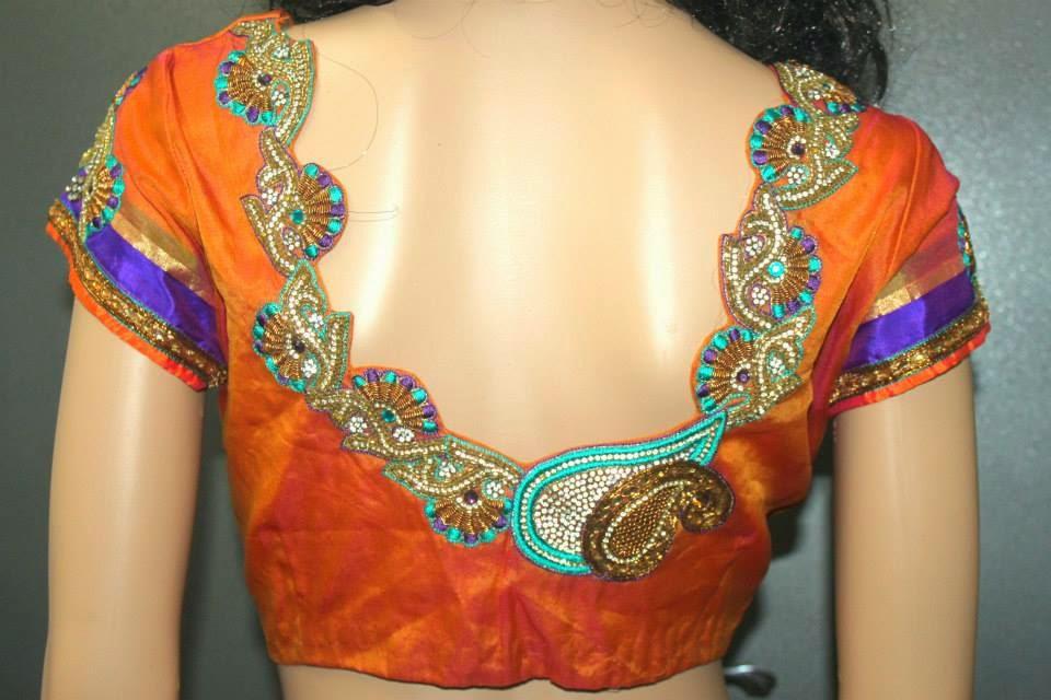Blouse Designs For Silk Sarees Top 21 Pattu Blouses!