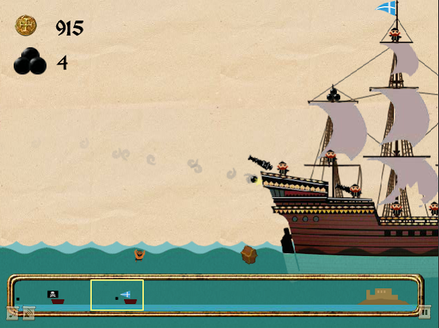 Pirates of the Stupid Sea flash game help walkthrough