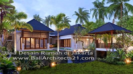 Desain rumah idaman jasa desain rumah desain villa for Arsitek di jakarta