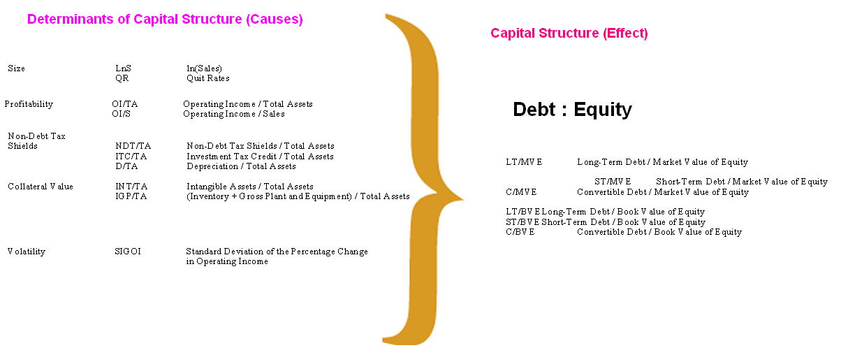 capital structure determinants trends Determinants of capital structure capital for a firm is the liquidity of a company and its effect on optimal capital structure has been showing various trends.