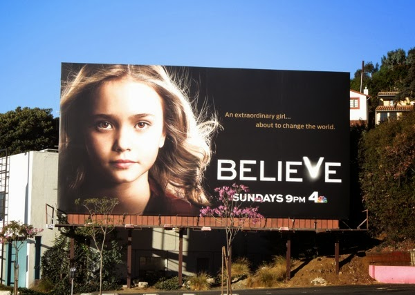 Believe series premiere NBC billboard