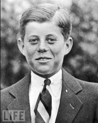 John F. Kennedy, 10 Years Old, 1927