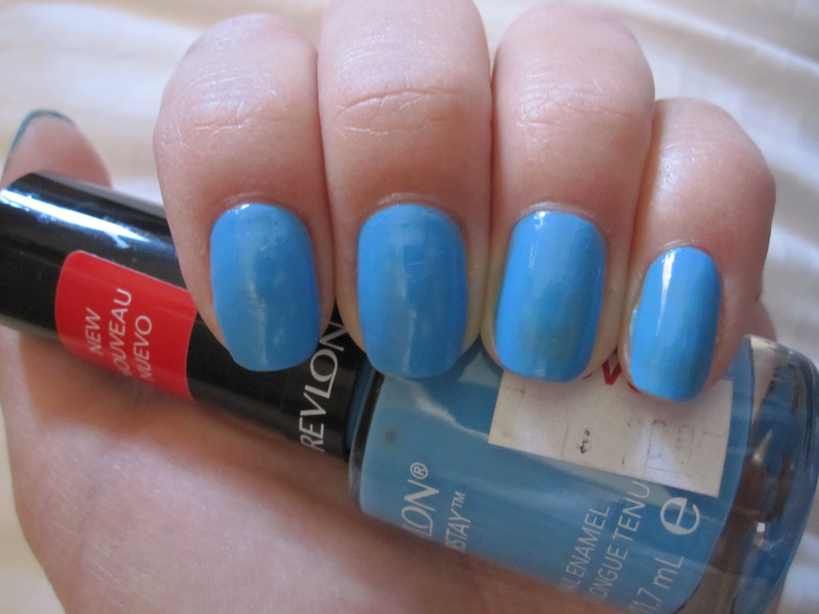 Nail Files 8: Cherry Blossoms & Revlon Colorstay 170 Coastal Surf ...
