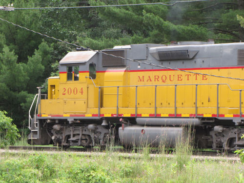 Marquette Rail engine 2004