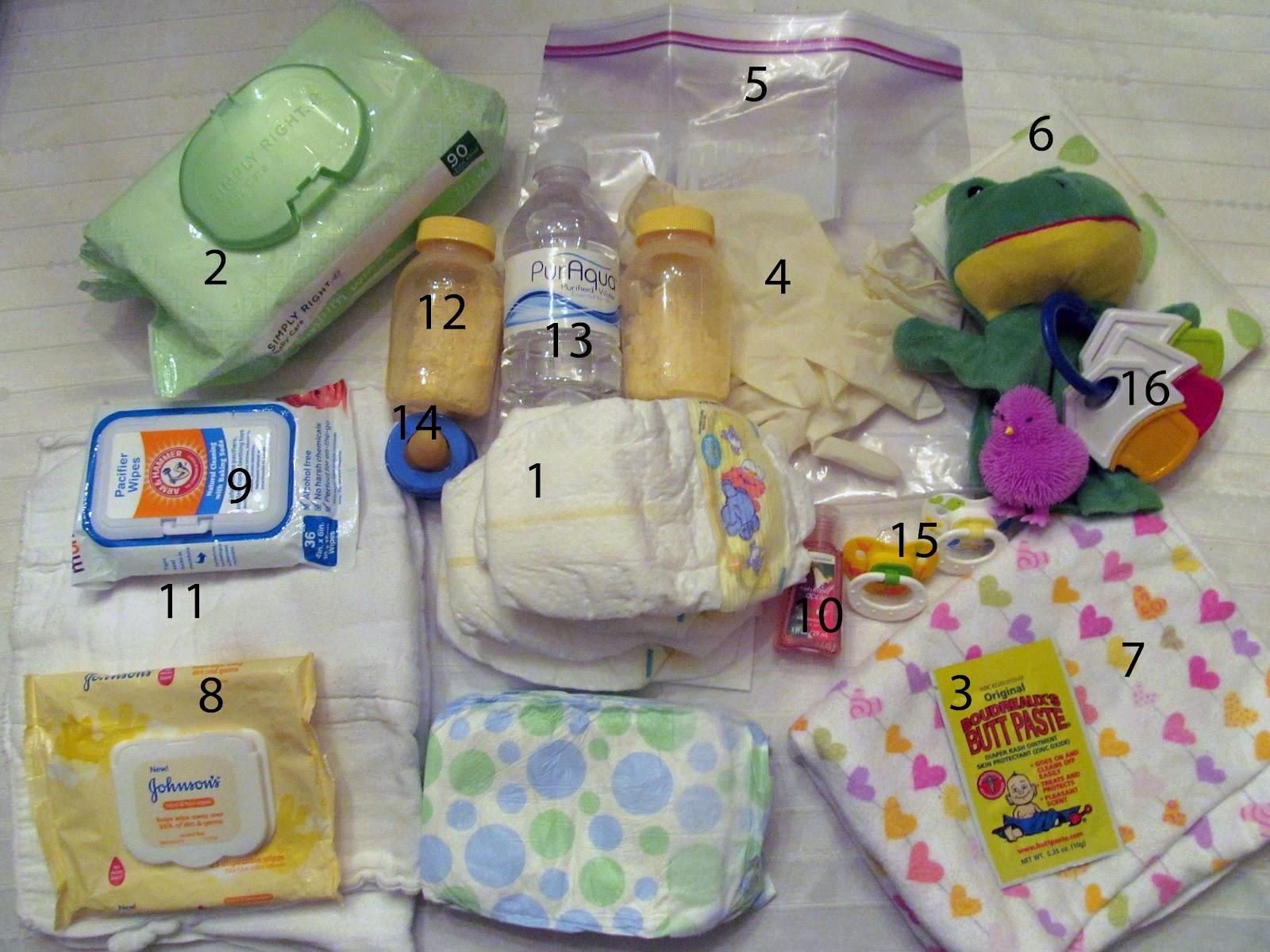 twin tips diaper bag checklist. Black Bedroom Furniture Sets. Home Design Ideas