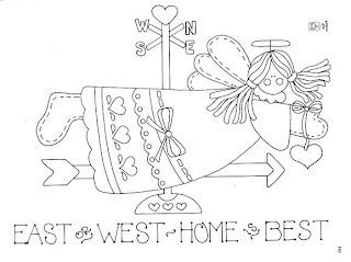 Desenhos Para Pintar east west