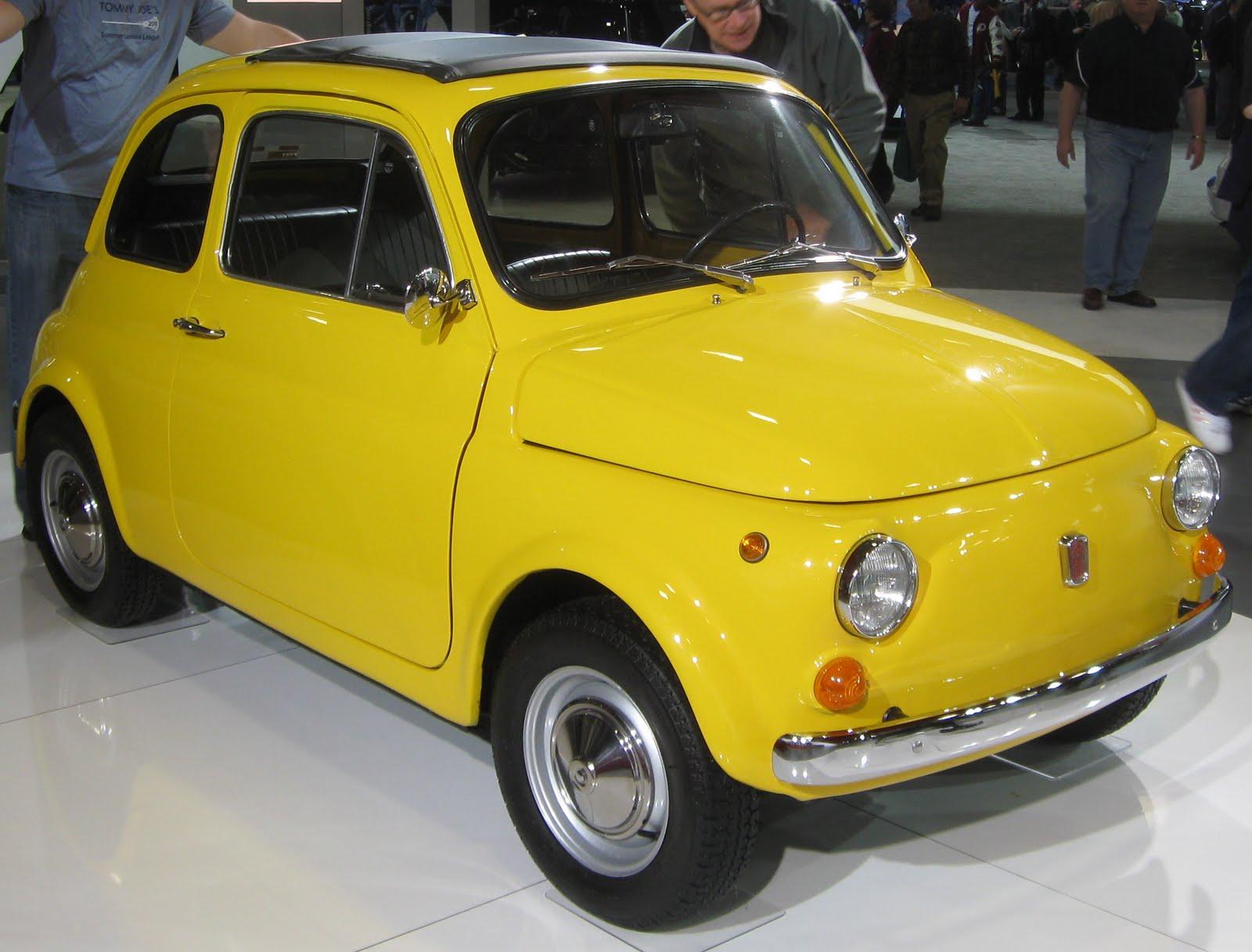 Legendary cars: Paper Model  Fiat 500