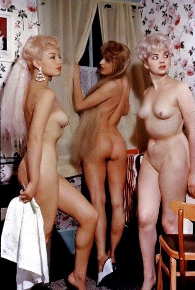 Unique vintage nude