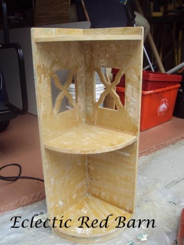 Stripped Corner Stand