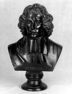 Benedictus de Spinoza-buste door Aurelio Micheli (1878)