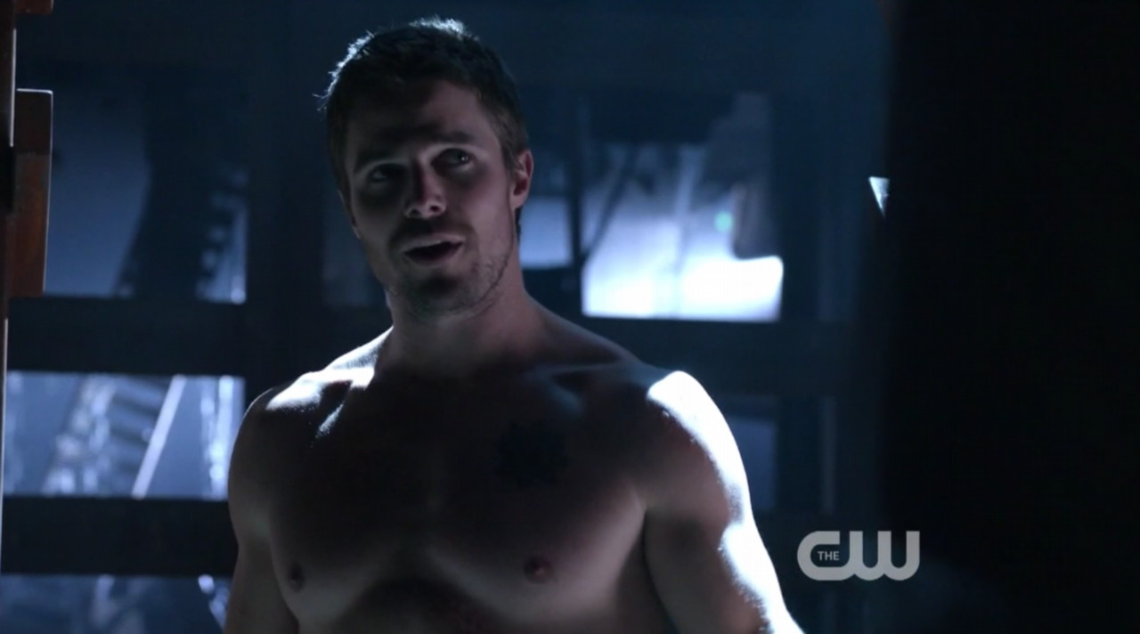 Colton haynes shirtless 2013 arrow