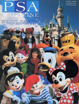 Cover-Artwork des PSA Magazine bei bombastic airlines