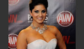 hot gorgeous Sunny leone in white dress very hot