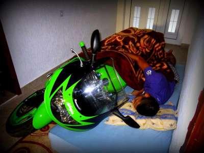 Anak Alay Punya Motor Ninja