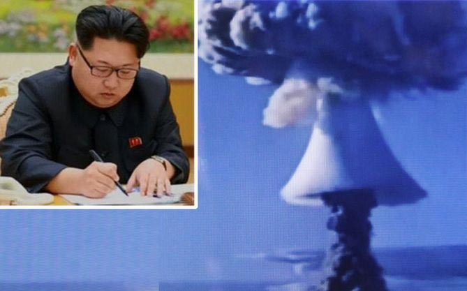 "World War III? Kim Jong-un Causes Tension As North Korea ""Sucessfully"" Tests Hydrogen Bomb"