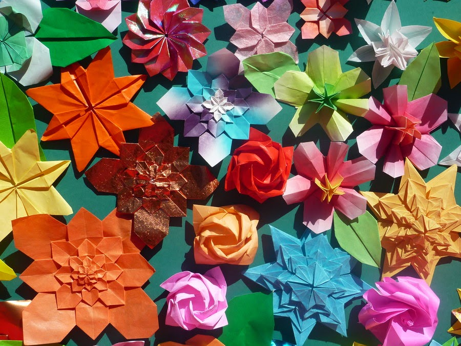 Simple Origami Flowers For Kids Origami Flower Easy