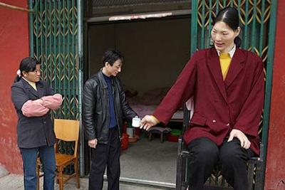 Wanita tertinggi di dunia, Yao Defen