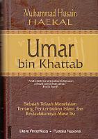 toko buku rahma: buku UMAR BIN KHATTAB, pengarang husin haekal, penerbit litera antar nusa