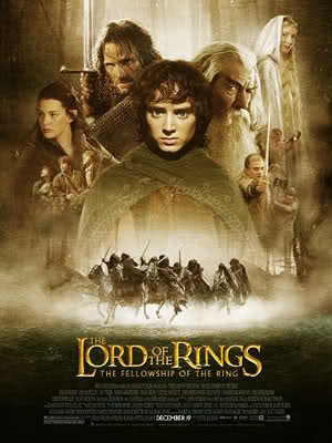 Poster The Lord of the Rings: The Fellowship of the Ring 2001
