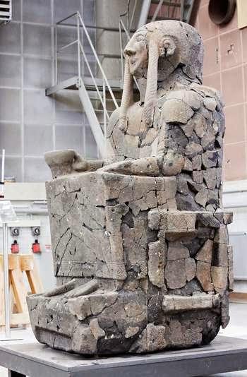 """Escultura """"recuperada"""""""