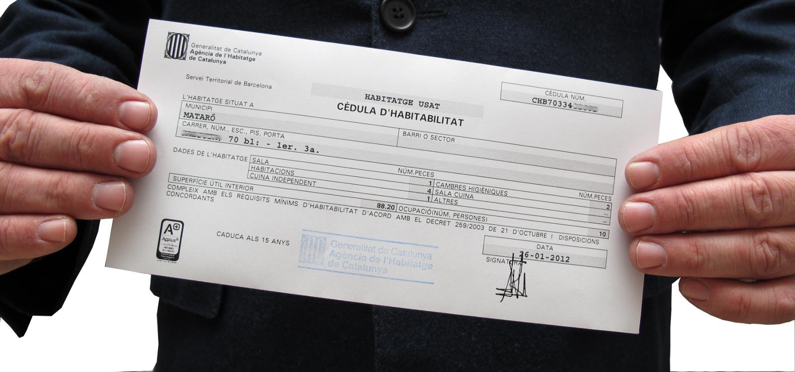EL MAESTRO DE OBRAS XAVIER VALDERAS: CÉDULA DE HABITABILIDAD ...
