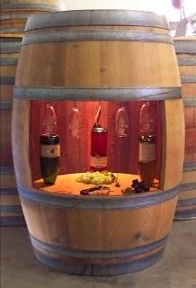 12 Ideas para decorar con barricas de vino