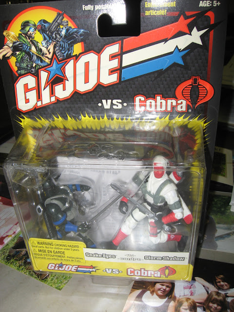 G.I. Joe vs. Cobra; Snake Eyes and Storm Shadow 2-pack