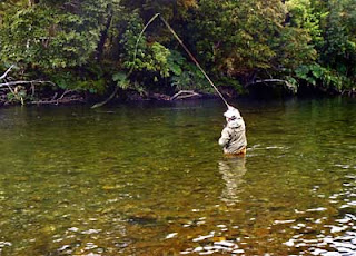 IMPARTING MOVEMENT TO A DRY FLY