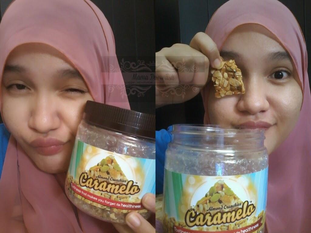 Mama Darwiish: Caramelo Almond Crunchies