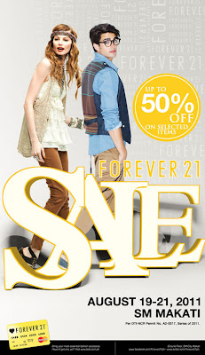 Forever 21 August Sale