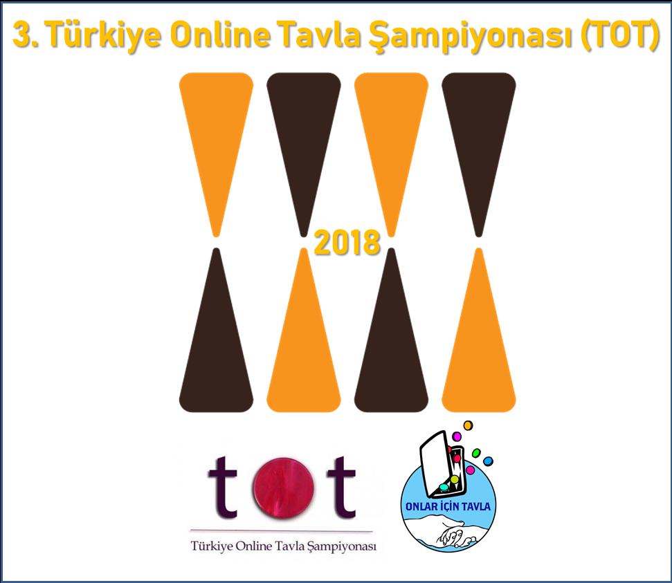 3.Türkiye Online Tavla Şampiyonası (TOT 2018)