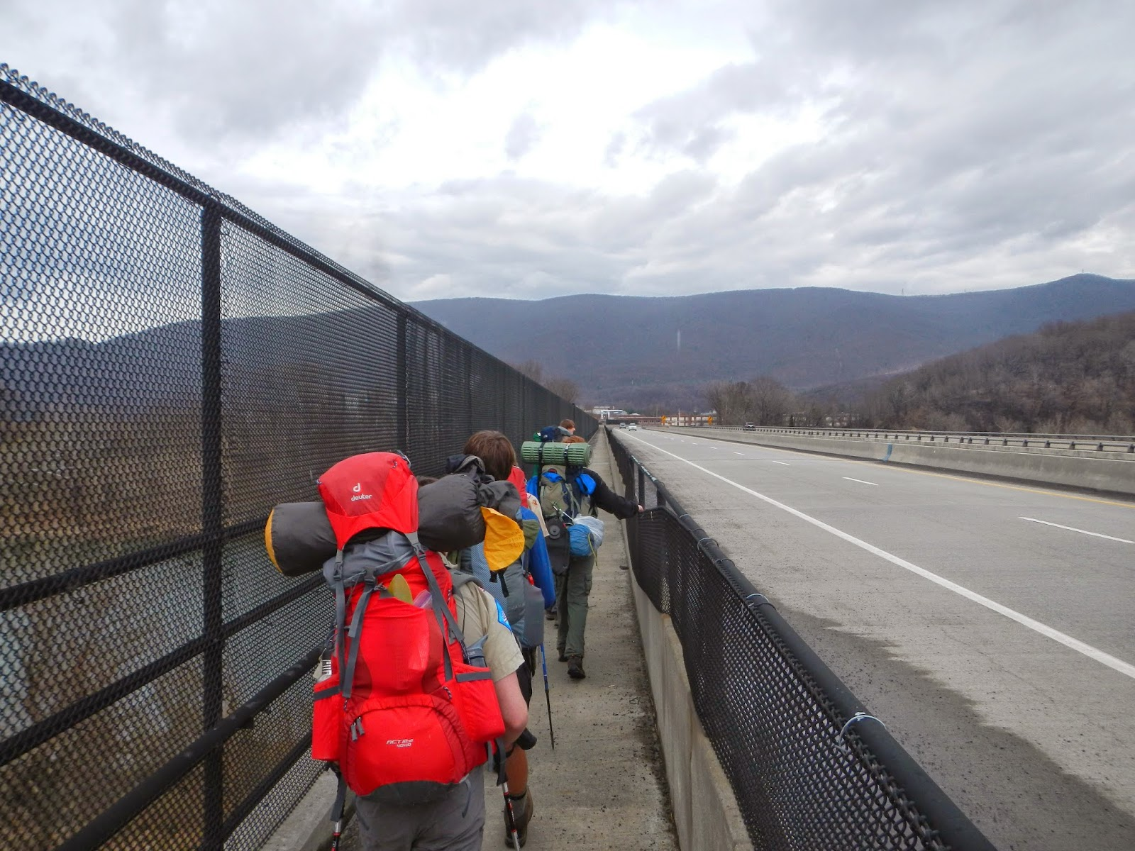 Wandering Virginia: The Appalachian Trail over the New River ...