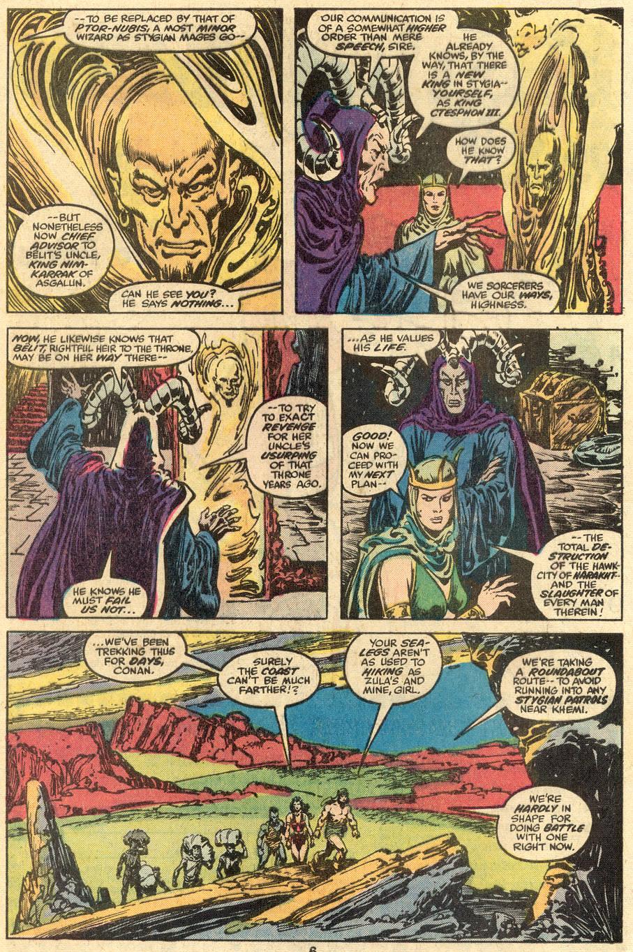 Conan the Barbarian (1970) Issue #90 #102 - English 5