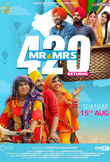 Mr & Mrs 420 Returns (2018) Punjabi Movie HDTVRip | 720p | 480p
