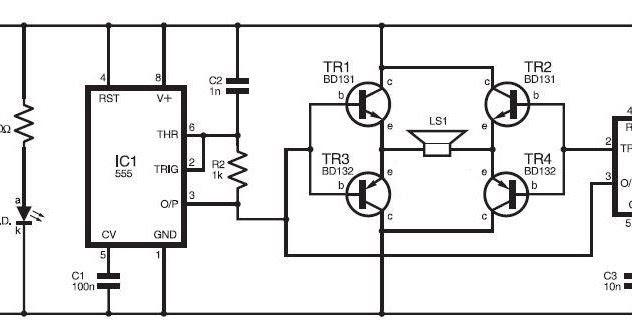 circuitos electronicos  circuito ultrasonidos