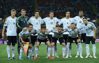 Germany take a photo