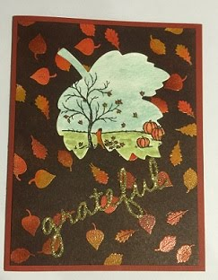 Grateful for Fall Card