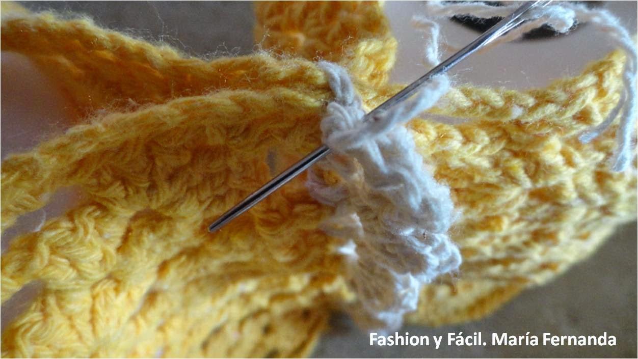 Set De Baño En Crochet Con Una Aguja:Granny squares o punto afgano para un porta papel de baño (Crocheted