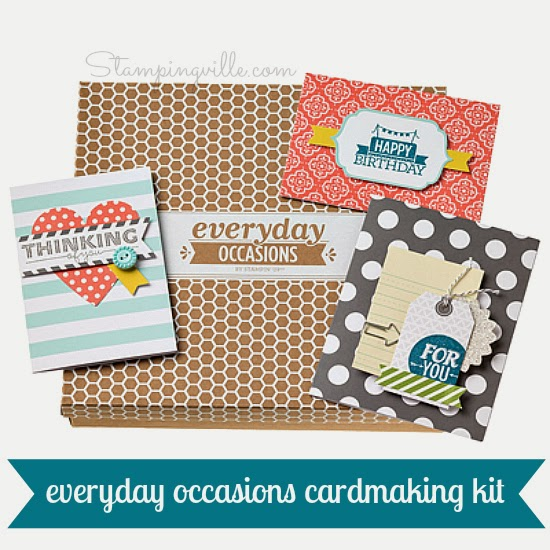 Stampin' Up! Everyday Occasions Card Making Kit