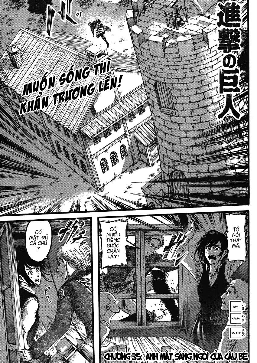 Attack on Titan chap 35 Trang 1